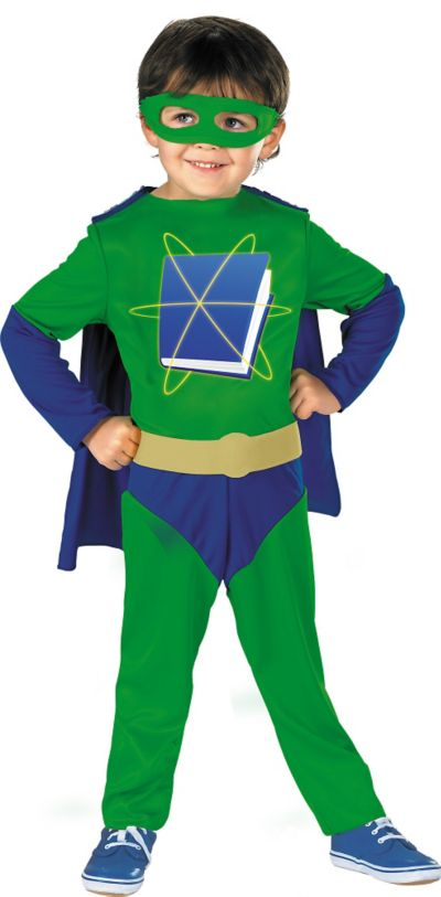 Toddler Boys Super Why Costume