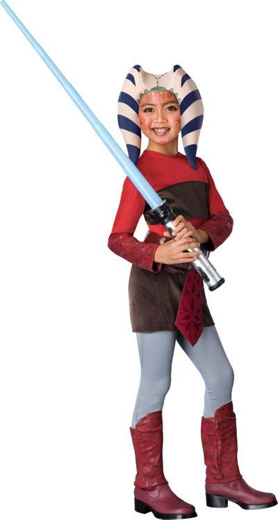 Girls Ahsoka Costume - Star Wars Clone Wars