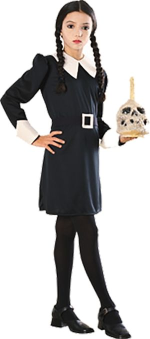 Girls Wednesday Costume - Addams Family