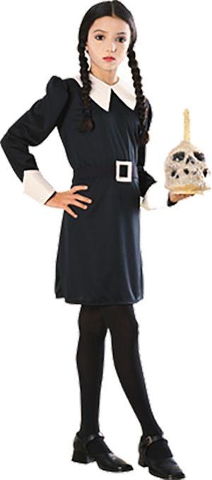 Girls Wednesday Costume - Addams Family