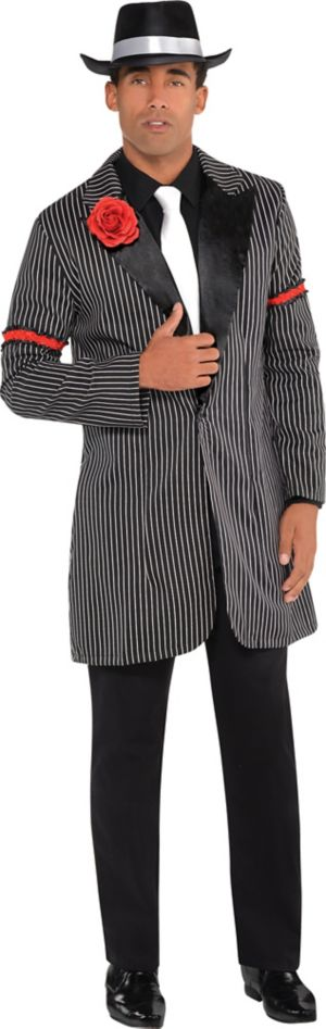 Black & White Zoot Suit Jacket