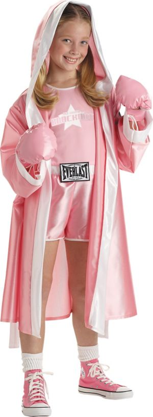 Girls Everlast Boxer Costume