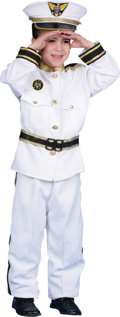 Boys Navy Admiral Costume