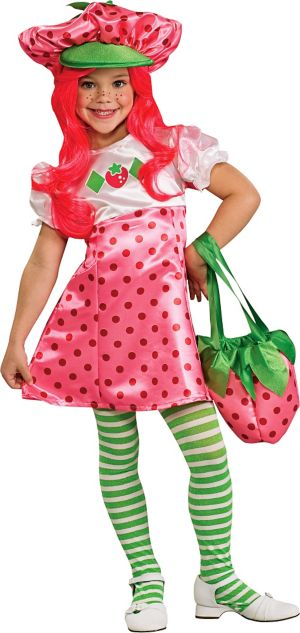 Toddler Girls Strawberry Shortcake Costume Deluxe