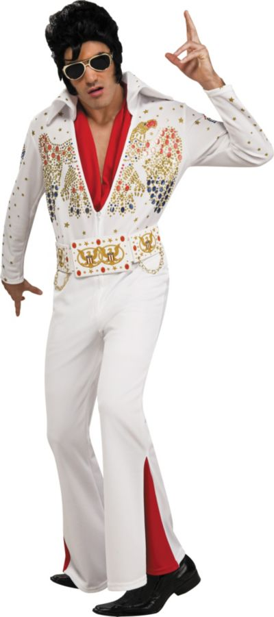 Deluxe Presley Elvis Costume For Adults Party City