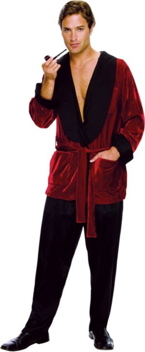 Adult Hugh Hefner Costume - Playboy
