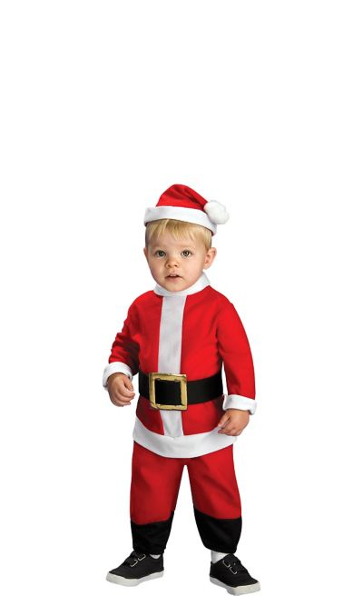 Toddler Boys Lil' Santa Suit