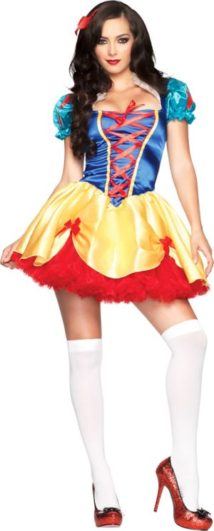 Adult Seductive Snow White Costume