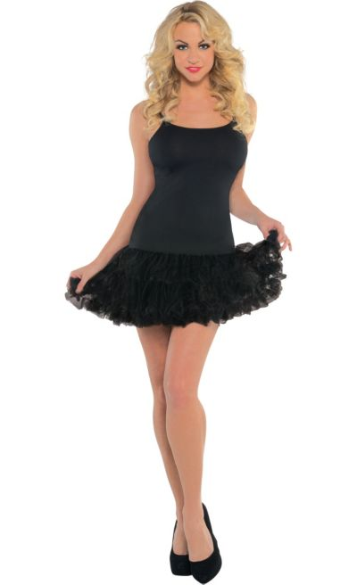 Black Petticoat Dress