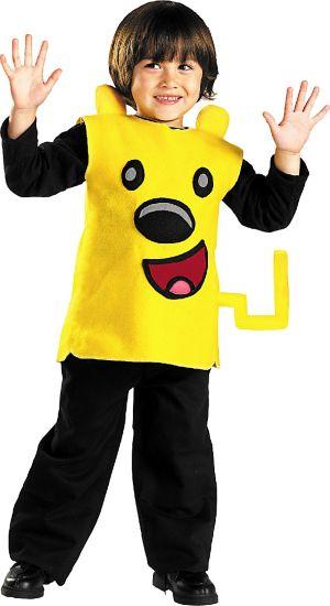 Toddler Boys Wubbzy Costume - Wow! Wow! Wubbzy!