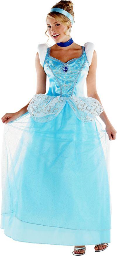 Adult Cinderella Costume Deluxe