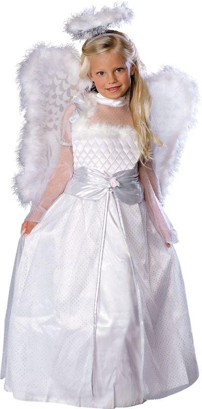 Girls Rosebud Angel Costume