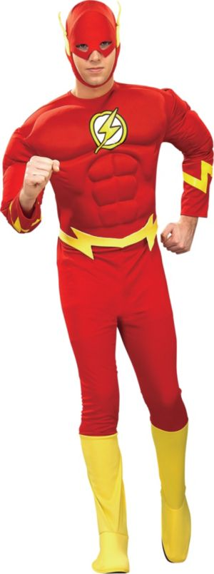 Adult Flash Muscle Costume Deluxe