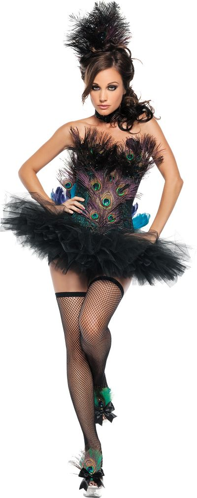 Adult Sexy Peacock Costume