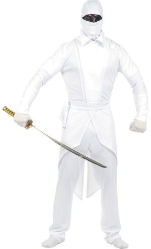 Adult White Ninja Costume