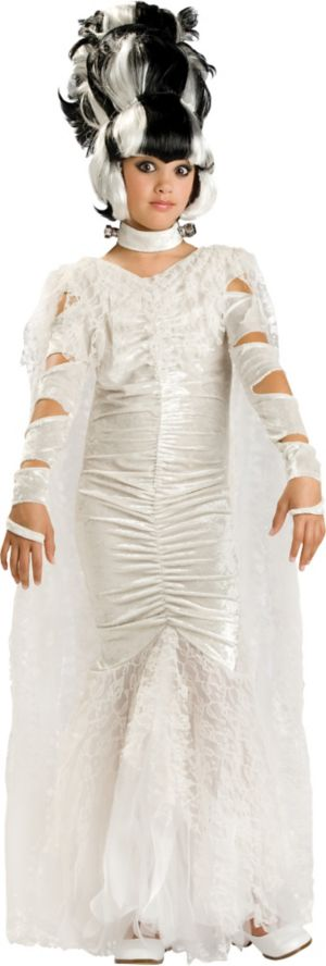 Girls Monster Bride Costume Elite