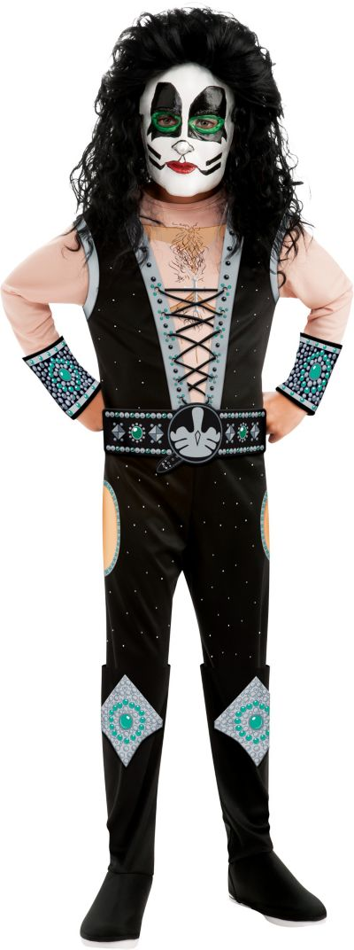 Boys Catman Costume Deluxe - Kiss