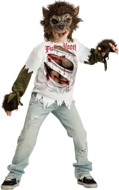 Boys Rip Werewolf Costume