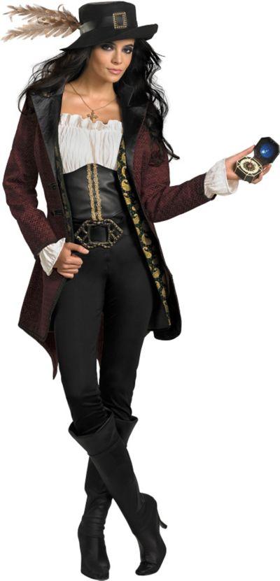 Adult Angelica Costume Prestige - Pirates of the Caribbean