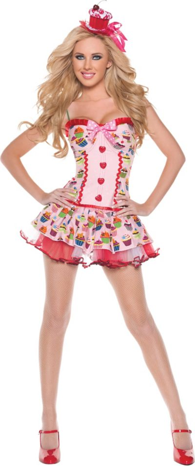 Adult Cupcake Girl Costume