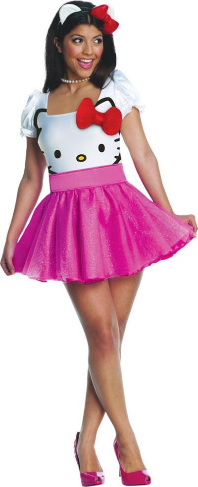 Adult Hello Kitty Costume