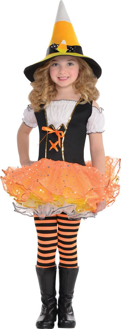 Girls Candy Spell Caster Costume