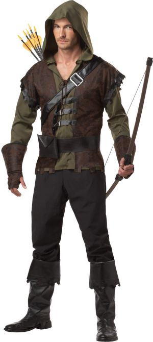 Adult Rugged Robin Hood Costume