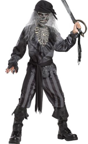 Boys Ghost Ship Pirate Costume
