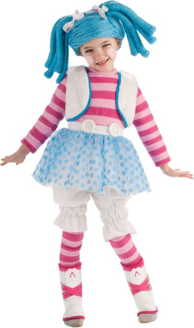 Girls Mittens Fluff N Stuff Costume Deluxe - Lalaloopsy