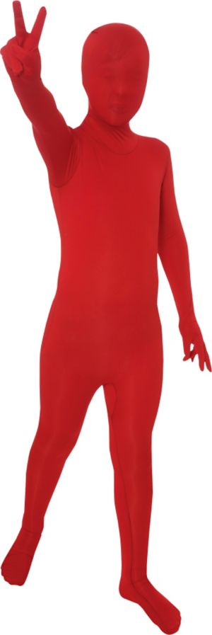 Teen Red Partysuit
