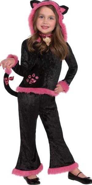 Toddler Girls Kuddley Kitty Costume