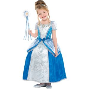 Toddler Girls Cinderella Costume Supreme