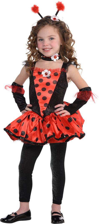 Anime Costumes Girls Girls Totally Ladybug Costume