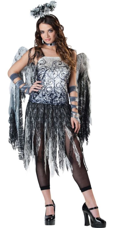 Teen Girls Dark Angel Costume