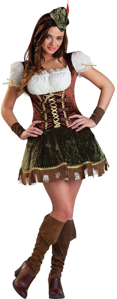 Teen Girls Robin Hood Honey Costume