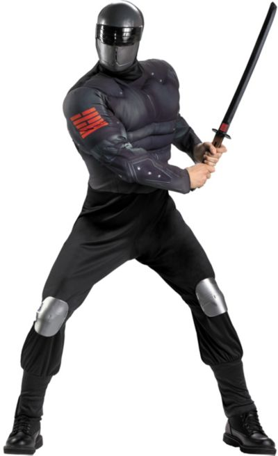Adult Snake Eyes Costume - G.I. Joe