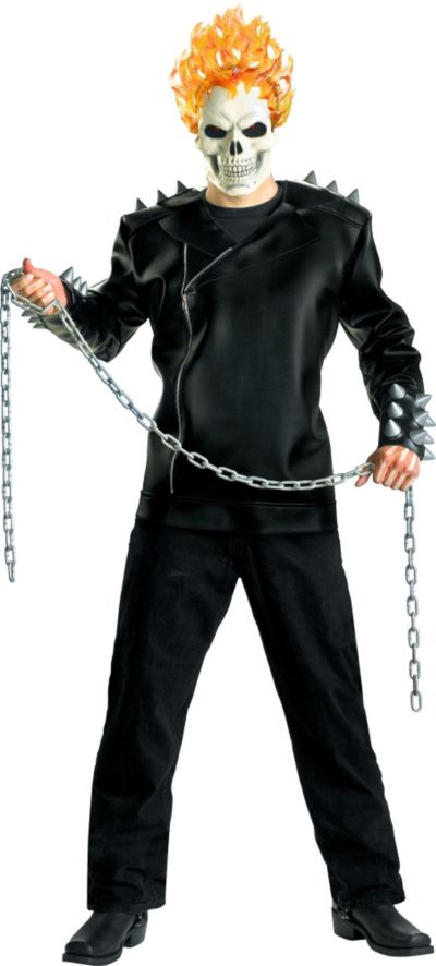 Adult Classic Ghost Rider Costume Deluxe