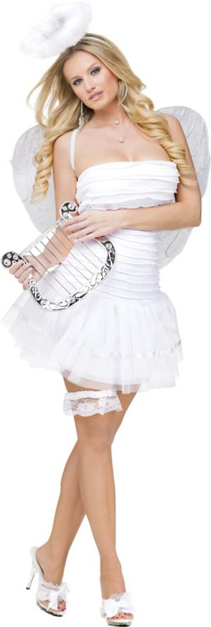 Adult Heaven on Earth Angel Costume