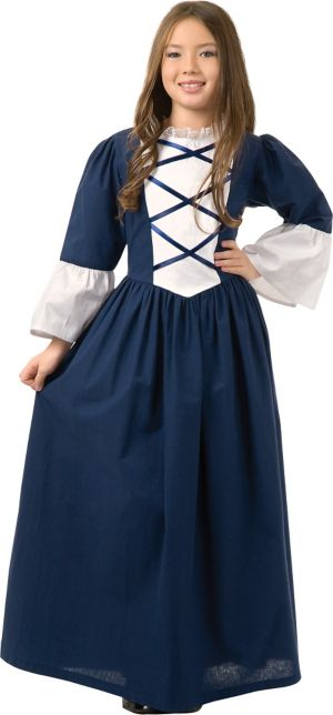 Girls Martha Washington Costume