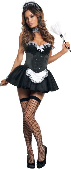 Adult Seductive Maid Costume