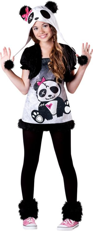 Girls Pandamonium Panda Costume