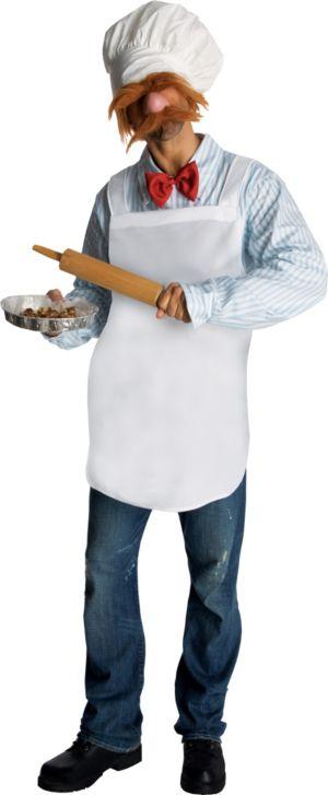 Adult Swedish Chef Costume - The Muppets