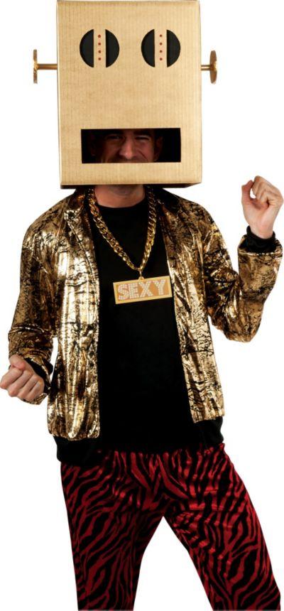 Adult LMFAO Shuffle Bot Costume