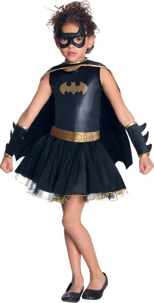 Girls Tutu Batgirl Costume - Batman