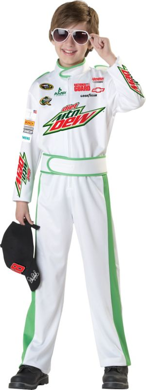 Boys Dale Earnhardt Jr Costume - NASCAR