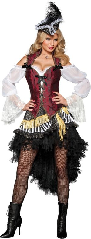 Adult High Seas Treasure Pirate Costume