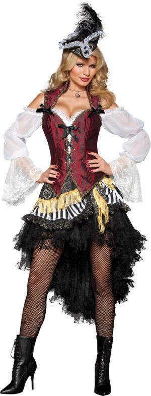 Adult High Seas Treasure Pirate Costume