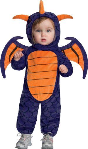 Baby Spyro Romper Costume - Skylanders