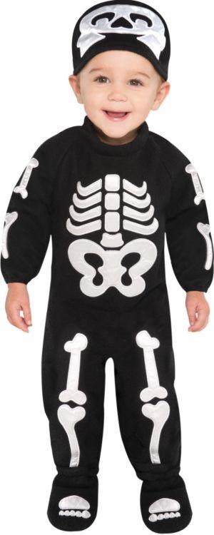 Baby Bitty Bones Skeleton Costume