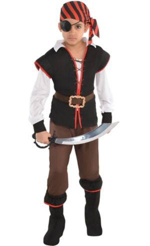 Boys Rebel of the Sea Pirate Costume